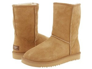 Ugg boots may cause really smelly feet