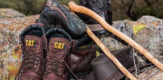weat sweaty hiking boots