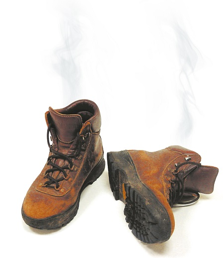 How To Prevent And Cure Work Boot Odor - Smelly Feet Cures